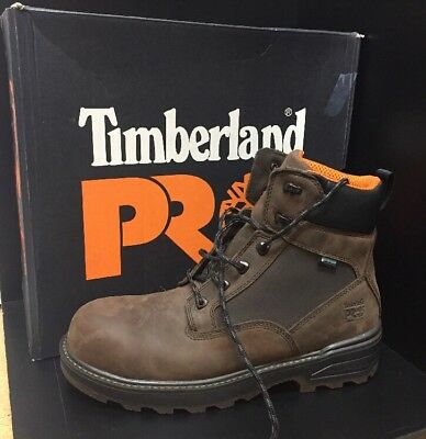 """Timberland PRO Resistor 6"""" WP Composite Safety Toe Work Boot A121S (Size 10.5)"""