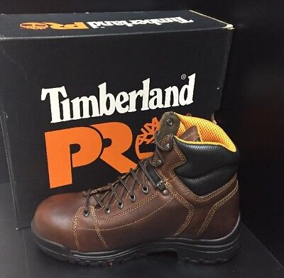"""Timberland Pro Titan Lace-To-Toe 6"""" Safety Toe Work Boots (Size 11) New"""