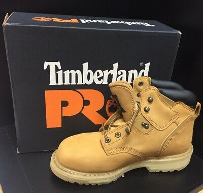 """Timberland Pro Pit Boss 6"""" Steel Safety Toe Work Boots 33031 (Size 8.5)"""
