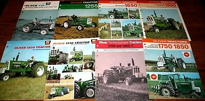 1960s Oliver Tractor Corporation Dealers Advertising Sales Catalog Rare