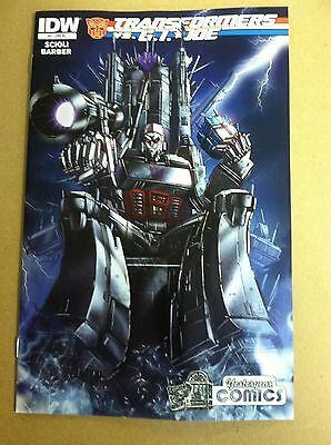 Transformers vs G.I Joe #3 Jamie Tyndall variant set