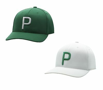 1c0080baca3 Puma P 110 Snapback Hat Mens Cap Rickie Fowler - 100% Recyclable Le New 2018