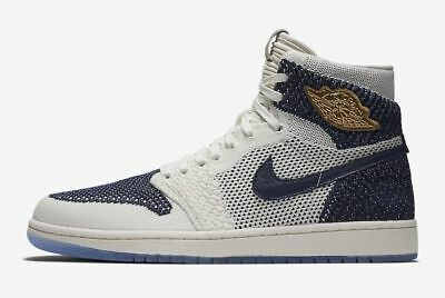 fda6a56f51c5 NIKE AIR JORDAN 1 Retro Flyknit RE2PECT Derek Jeter Lot - AH7233-105 ...