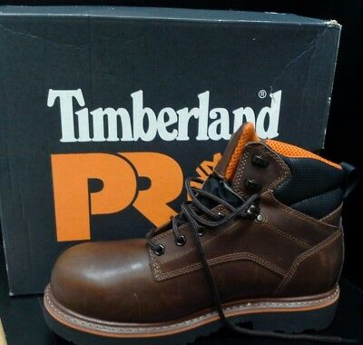"""Timberland Pro Ascender 6"""" Alloy Toe Work Boots (10.5) TBOA1711214 New"""