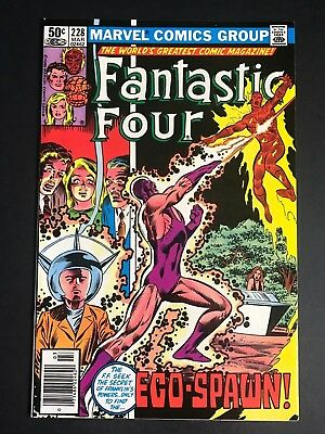 Fantastic Four #228 RARE SCARCE Mark Jewelers VARIANT FN/VF