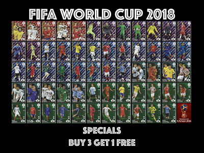World Cup 2018 Panini Adrenalyn Xl Power 4 Double Trouble Game Changers