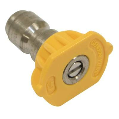 "New Stens 758-411 1/4"" Quick Connect Nozzle Size 3.5 Yellow 15 Spray Angle"