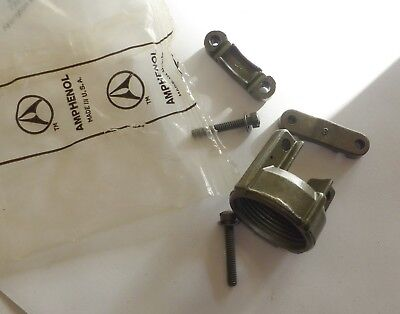 LOT of FOUR  Amphenol MS3057-8A CABLE CLAMPS Strain Relief  NEW
