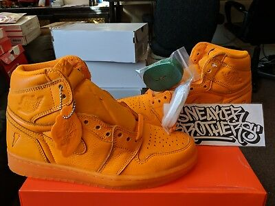 Nike Air Jordan Retro I 1 High OG G8RD Gatorade Orange Peel Like Mike AJ5997-880