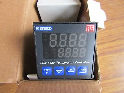 EMKO / RS PID Temperature Controller, 48 x 48mm RTD - 3 Output relay A1 7740266