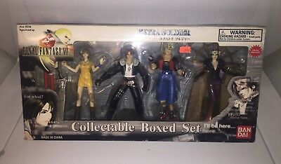 Final Fantasy VIII 8 **Extra Soldier ** Action Figure Box Set * NEW *