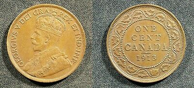 1913 Canada Large Cent - Solid VF   stk#H51