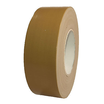 Woven Tape Beige Gaffa Tape 50mm x 50m Duct Tape Adhesive Tape