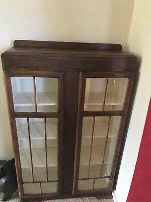 Antique English Display cupboard