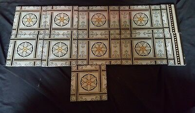 11 Victorian Fire Surround Tiles