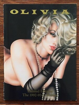 Olivia Limited Editions The 1992-93 Collection Pin Up Art Catalogue De Berardini