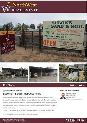 Soil Yard And Plant Nursery In Regional Vic For sale