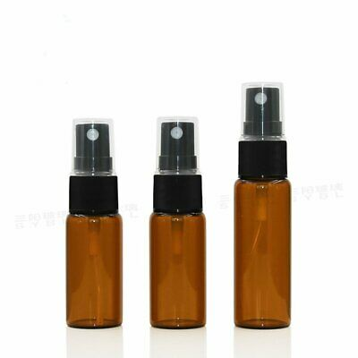 Beauty Amber Glass Bottles Essential Oil Mist Spray Container Case EU