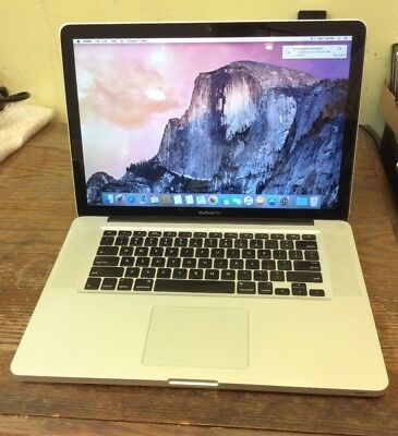 """Apple MacBook Pro 15"""" Laptop - Mid 2010 - NEED NEW BATTERY/FOR PARTS bundle"""