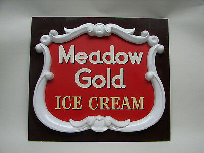 OPC Vintage Meadow Gold Ice Cream Advertising Store Display