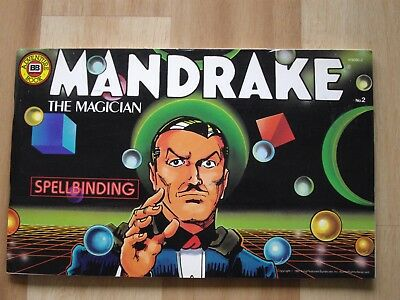 Mandrake The Magician comic # 2 From 1987 By Budget Books. VG