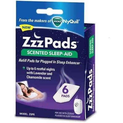 2 Pack: ZzzPads Scented Sleep-Aid Refill Pads for Plugged In Sleep Enhancer,...