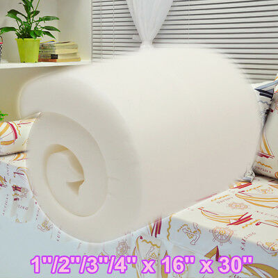 """16''x30"""" High Density Seat Foam Rubber Cushion Replacement Upholstery Firm Pads"""