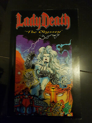 "Lady Death ""The Odyssey"" Full story Graphic novel"