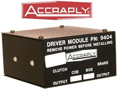 ACCRAPLY Clutch Brake Driver Module PN: 9404  socket 11 pin plug-in