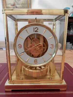 Jaeger-LeCoultre Perpetual Motion Atmos Clock 283317 with Original Case