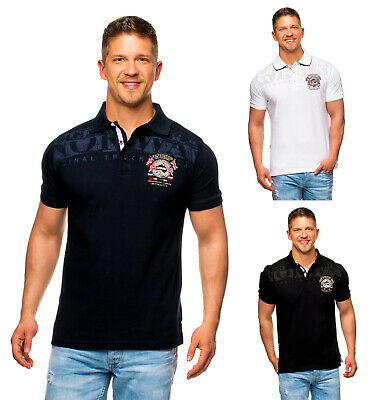 Geographical Norway Uomo Polo Maglia Polo T cacao S M L XL XXL 3xl NUOVO