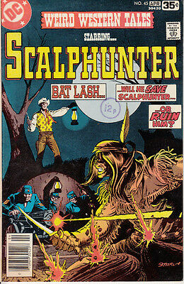DC Weird Western Tales, #45, 1978, Scalphunter, Gerry Conway, Dick Ayers