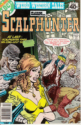 DC Weird Western Tales, #50, 1978, Scalphunter, Gerry Conway, Dick Ayers