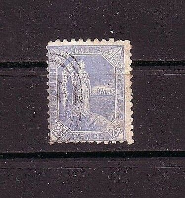 NEW SOUTH WALES Postage 2 1/2 p pence 1890