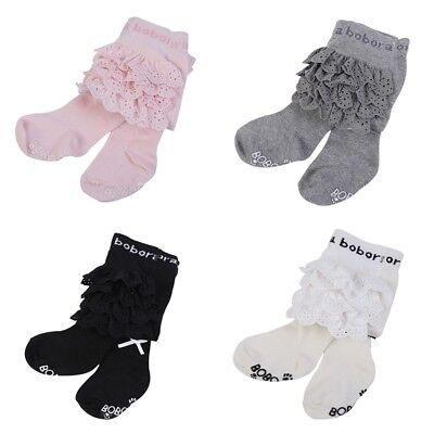 Baby Princess Kid Ballet Tight Bow Lace Newborn Stocking Girl Pantyhose New US