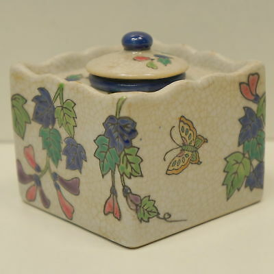 Enamels Porcelain Renaissance Style Office Inkwell