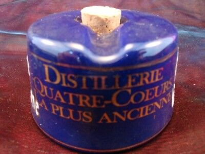 Ceramic Ceramic Porcelain Office Bar Absinthe Advertising Inkwell