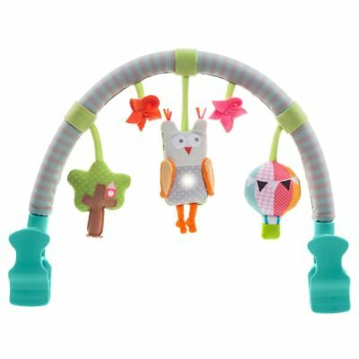 Taf Toys Musical Arch Owl Baby Infant Cot Pram Music Play Activity Toy 11875