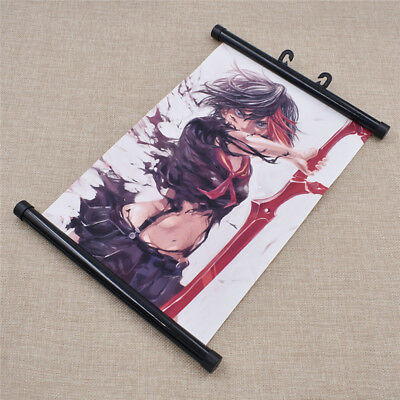Cosplay Japanese Anime KILL la KILL Wall Poster Scroll Home Decor One Size Gift