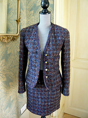 CHANEL Tailleur tweed T 38