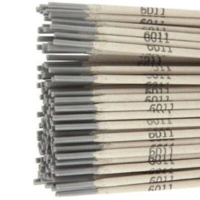 "Victory E6011 3/32"" 50LB STICK ELECTRODE 6011 WELDING ROD 5 PACKS 10Ib Each Pack"