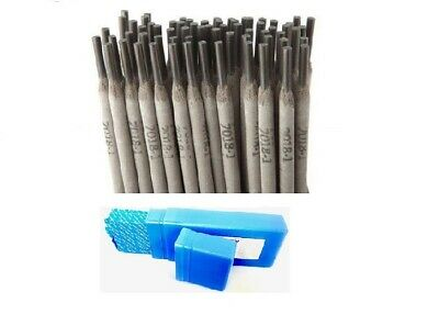 "E7018 1/8"" 50LB STICK ELECTRODE 7018 WELDING ROD 5 PACKS, 10Ib Each Pack-V"