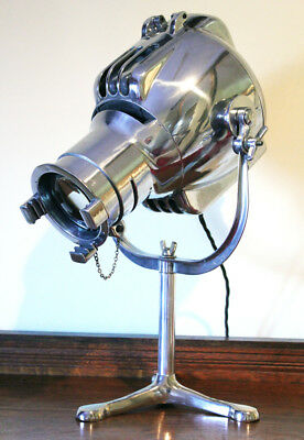Vintage Strand Patt 23 Bbc Tv Stage Theatre Lamp Floor Light Tri Base Stand