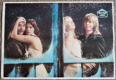 ABBA Large Poster - Spunky! Magazine Supplement 1977