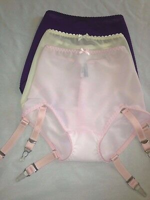 Revival Lingerie powernet support girdle, 6 straps S-3XL CLEARANCE