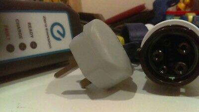 OEM Nissan Type 2 Portable EV Charging Cable Charge Car From a Household Socket