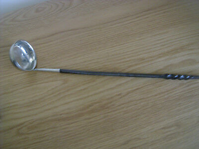 A Good Quality Horn Handled Toddy Ladle