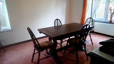 Dinning Room Table 6 Chairs & Sideboard