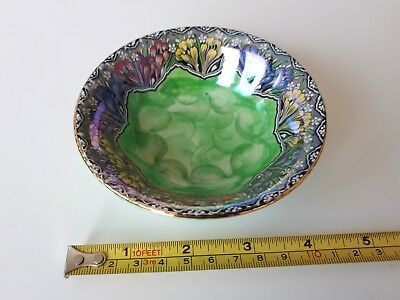maling pottery crocus small dish
