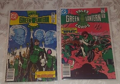 Tales of the Green Lantern Corps #1 & 2 ~ 1981 DC Comics